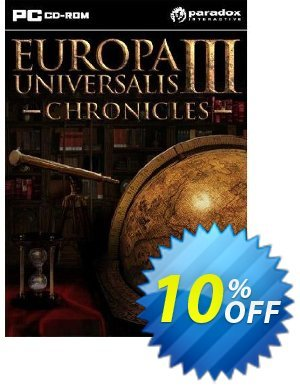Europa Universalis III 3 Chronicles (PC) 프로모션 코드 Europa Universalis III 3 Chronicles (PC) Deal 프로모션: Europa Universalis III 3 Chronicles (PC) Exclusive Easter Sale offer for iVoicesoft