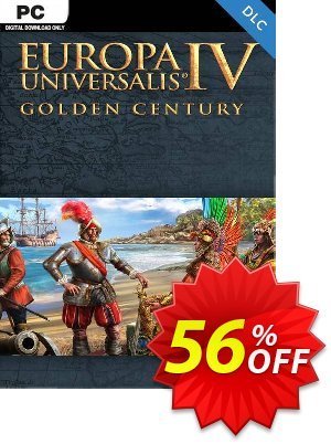 Europa Universalis IV PC: Golden Century DLC 프로모션 코드 Europa Universalis IV PC: Golden Century DLC Deal 프로모션: Europa Universalis IV PC: Golden Century DLC Exclusive Easter Sale offer for iVoicesoft