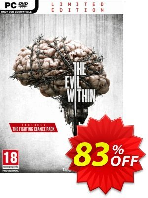 The Evil Within Limited Edition PC discount coupon The Evil Within Limited Edition PC Deal - The Evil Within Limited Edition PC Exclusive Easter Sale offer for iVoicesoft