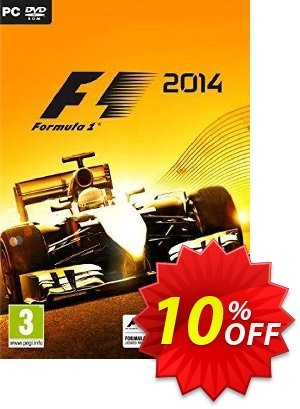 F1 2014 PC discount coupon F1 2014 PC Deal - F1 2014 PC Exclusive Easter Sale offer for iVoicesoft