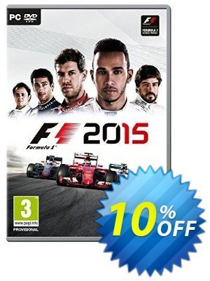 F1 2015 PC discount coupon F1 2015 PC Deal - F1 2015 PC Exclusive Easter Sale offer for iVoicesoft