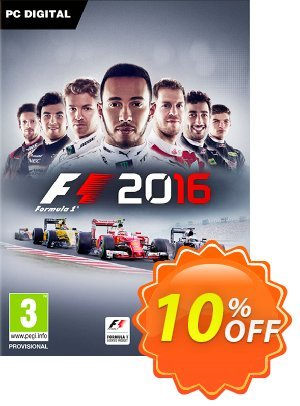 F1 2016 PC discount coupon F1 2016 PC Deal - F1 2016 PC Exclusive Easter Sale offer for iVoicesoft