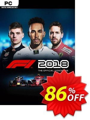 F1 2018 PC 프로모션 코드 F1 2018 PC Deal 프로모션: F1 2018 PC Exclusive Easter Sale offer for iVoicesoft