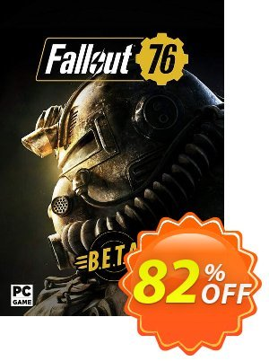 Fallout 76 BETA PC 優惠券,折扣碼 Fallout 76 BETA PC Deal,促銷代碼: Fallout 76 BETA PC Exclusive Easter Sale offer for iVoicesoft