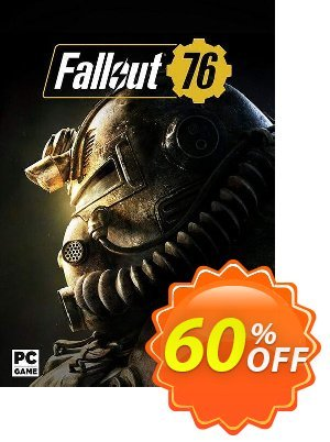 Fallout 76 PC (Asia) discount coupon Fallout 76 PC (Asia) Deal - Fallout 76 PC (Asia) Exclusive Easter Sale offer for iVoicesoft
