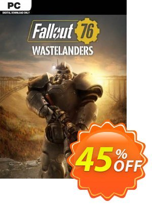 Fallout 76: Wastelanders PC (US/CA) discount coupon Fallout 76: Wastelanders PC (US/CA) Deal - Fallout 76: Wastelanders PC (US/CA) Exclusive Easter Sale offer for iVoicesoft