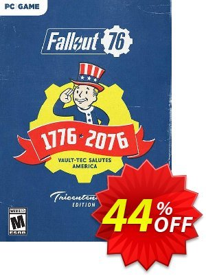 Fallout 76 Tricentennial Edition PC (US/CA) discount coupon Fallout 76 Tricentennial Edition PC (US/CA) Deal - Fallout 76 Tricentennial Edition PC (US/CA) Exclusive Easter Sale offer for iVoicesoft