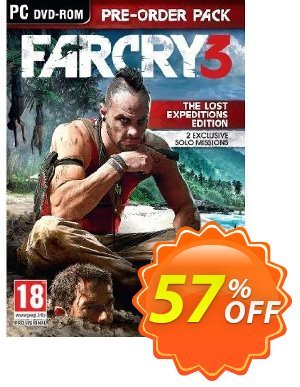Far Cry 3 - The Lost Expeditions Edition (PC) discount coupon Far Cry 3 - The Lost Expeditions Edition (PC) Deal - Far Cry 3 - The Lost Expeditions Edition (PC) Exclusive Easter Sale offer for iVoicesoft