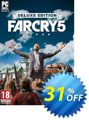 Far Cry 5 Deluxe Edition PC discount coupon Far Cry 5 Deluxe Edition PC Deal - Far Cry 5 Deluxe Edition PC Exclusive Easter Sale offer for iVoicesoft