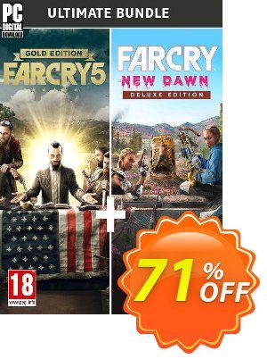 Far Cry New Dawn + Far Cry 5 - Ultimate Bundle PC discount coupon Far Cry New Dawn + Far Cry 5 - Ultimate Bundle PC Deal - Far Cry New Dawn + Far Cry 5 - Ultimate Bundle PC Exclusive Easter Sale offer for iVoicesoft