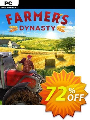 Farmer's Dynasty PC 優惠券,折扣碼 Farmer's Dynasty PC Deal,促銷代碼: Farmer's Dynasty PC Exclusive Easter Sale offer for iVoicesoft