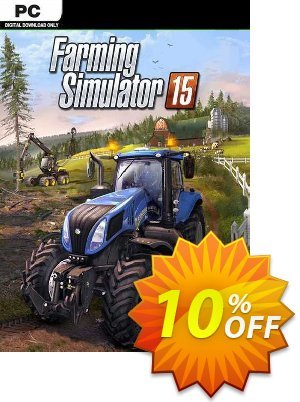 Farming Simulator 15 PC discount coupon Farming Simulator 15 PC Deal - Farming Simulator 15 PC Exclusive Easter Sale offer for iVoicesoft