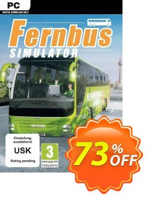 Fernbus Simulator PC 프로모션 코드 Fernbus Simulator PC Deal 프로모션: Fernbus Simulator PC Exclusive Easter Sale offer for iVoicesoft