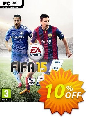 FIFA 15 PC 優惠券,折扣碼 FIFA 15 PC Deal,促銷代碼: FIFA 15 PC Exclusive Easter Sale offer for iVoicesoft