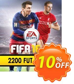 FIFA 16 PC 2200 FUT Points discount coupon FIFA 16 PC 2200 FUT Points Deal - FIFA 16 PC 2200 FUT Points Exclusive Easter Sale offer for iVoicesoft