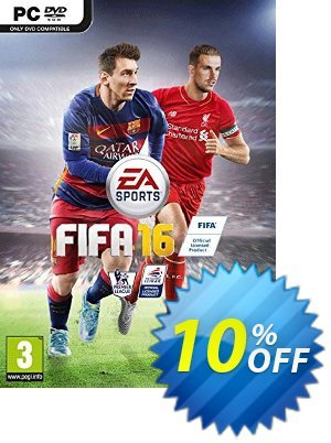 FIFA 16 PC discount coupon FIFA 16 PC Deal - FIFA 16 PC Exclusive Easter Sale offer for iVoicesoft