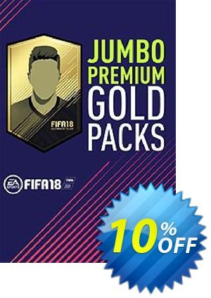 FIFA 18 - Jumbo Premium Gold Packs PC discount coupon FIFA 18 - Jumbo Premium Gold Packs PC Deal - FIFA 18 - Jumbo Premium Gold Packs PC Exclusive Easter Sale offer for iVoicesoft