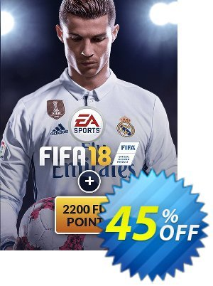 FIFA 18 PC + 2200 FUT Points discount coupon FIFA 18 PC + 2200 FUT Points Deal - FIFA 18 PC + 2200 FUT Points Exclusive Easter Sale offer for iVoicesoft