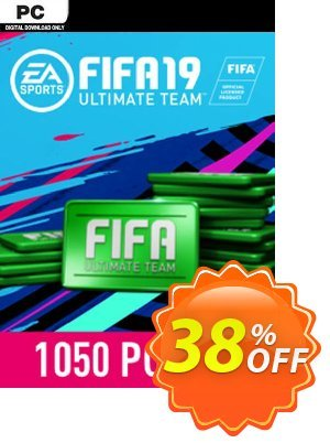 FIFA 19 - 1050 FUT Points PC discount coupon FIFA 19 - 1050 FUT Points PC Deal - FIFA 19 - 1050 FUT Points PC Exclusive Easter Sale offer for iVoicesoft