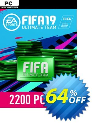 FIFA 19 - 2200 FUT Points PC discount coupon FIFA 19 - 2200 FUT Points PC Deal - FIFA 19 - 2200 FUT Points PC Exclusive Easter Sale offer for iVoicesoft