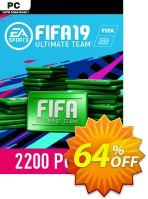 FIFA 19 - 2200 FUT Points PC 프로모션 코드 FIFA 19 - 2200 FUT Points PC Deal 프로모션: FIFA 19 - 2200 FUT Points PC Exclusive Easter Sale offer for iVoicesoft