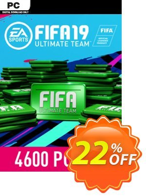 FIFA 19 - 4600 FUT Points PC discount coupon FIFA 19 - 4600 FUT Points PC Deal - FIFA 19 - 4600 FUT Points PC Exclusive Easter Sale offer for iVoicesoft