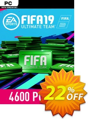 FIFA 19 - 4600 FUT Points PC 프로모션 코드 FIFA 19 - 4600 FUT Points PC Deal 프로모션: FIFA 19 - 4600 FUT Points PC Exclusive Easter Sale offer for iVoicesoft