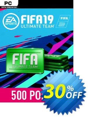 FIFA 19 - 500 FUT Points PC discount coupon FIFA 19 - 500 FUT Points PC Deal - FIFA 19 - 500 FUT Points PC Exclusive Easter Sale offer for iVoicesoft