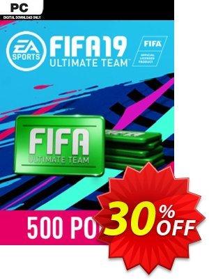 FIFA 19 - 500 FUT Points PC Coupon discount FIFA 19 - 500 FUT Points PC Deal. Promotion: FIFA 19 - 500 FUT Points PC Exclusive Easter Sale offer for iVoicesoft