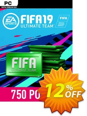 FIFA 19 - 750 FUT Points PC 優惠券,折扣碼 FIFA 19 - 750 FUT Points PC Deal,促銷代碼: FIFA 19 - 750 FUT Points PC Exclusive Easter Sale offer for iVoicesoft