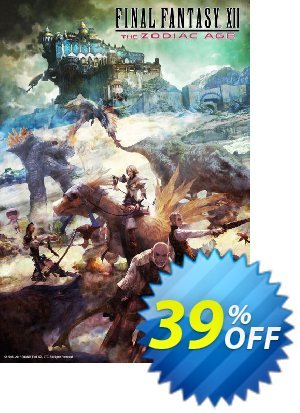 Final Fantasy XII: The Zodiac Age PC 優惠券,折扣碼 Final Fantasy XII: The Zodiac Age PC Deal,促銷代碼: Final Fantasy XII: The Zodiac Age PC Exclusive Easter Sale offer for iVoicesoft