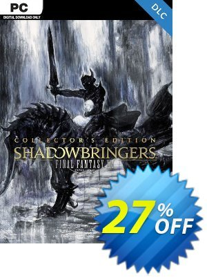 Final Fantasy XIV 14 Shadowbringers Collectors Edition PC discount coupon Final Fantasy XIV 14 Shadowbringers Collectors Edition PC Deal - Final Fantasy XIV 14 Shadowbringers Collectors Edition PC Exclusive Easter Sale offer for iVoicesoft