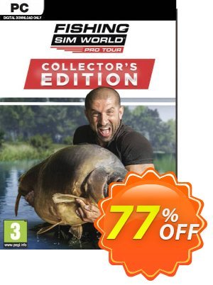 Fishing Sim World 2020 Pro Tour Collector's Edition PC discount coupon Fishing Sim World 2020 Pro Tour Collector's Edition PC Deal - Fishing Sim World 2020 Pro Tour Collector's Edition PC Exclusive Easter Sale offer for iVoicesoft