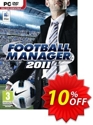 Football Manager 2011 PC 優惠券,折扣碼 Football Manager 2011 PC Deal,促銷代碼: Football Manager 2011 PC Exclusive Easter Sale offer for iVoicesoft
