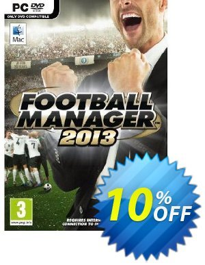 Football Manager 2013 (PC) discount coupon Football Manager 2013 (PC) Deal - Football Manager 2013 (PC) Exclusive Easter Sale offer for iVoicesoft