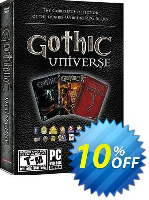 Gothic Universe (PC) Coupon, discount Gothic Universe (PC) Deal. Promotion: Gothic Universe (PC) Exclusive Easter Sale offer for iVoicesoft