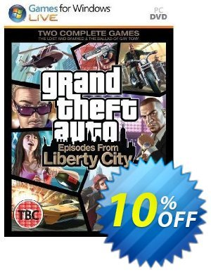 Grand Theft Auto: Episodes from Liberty City (PC) 프로모션 코드 Grand Theft Auto: Episodes from Liberty City (PC) Deal 프로모션: Grand Theft Auto: Episodes from Liberty City (PC) Exclusive Easter Sale offer for iVoicesoft