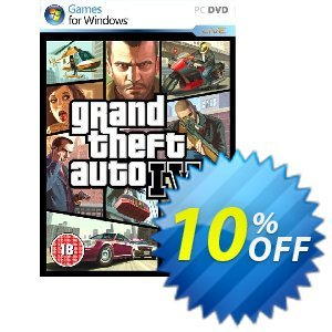 Grand Theft Auto IV 4 (PC) discount coupon Grand Theft Auto IV 4 (PC) Deal - Grand Theft Auto IV 4 (PC) Exclusive Easter Sale offer for iVoicesoft