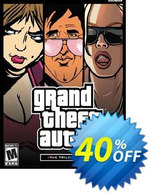 Grand Theft Auto: The Trilogy PC 優惠券,折扣碼 Grand Theft Auto: The Trilogy PC Deal,促銷代碼: Grand Theft Auto: The Trilogy PC Exclusive Easter Sale offer for iVoicesoft