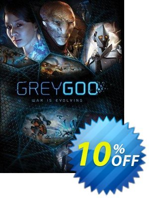 Grey Goo PC 優惠券,折扣碼 Grey Goo PC Deal,促銷代碼: Grey Goo PC Exclusive Easter Sale offer for iVoicesoft