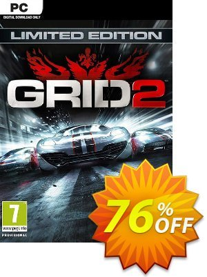 Grid 2 Limited Edition PC discount coupon Grid 2 Limited Edition PC Deal - Grid 2 Limited Edition PC Exclusive Easter Sale offer for iVoicesoft