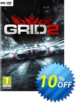 Grid 2 (PC) 프로모션 코드 Grid 2 (PC) Deal 프로모션: Grid 2 (PC) Exclusive Easter Sale offer for iVoicesoft