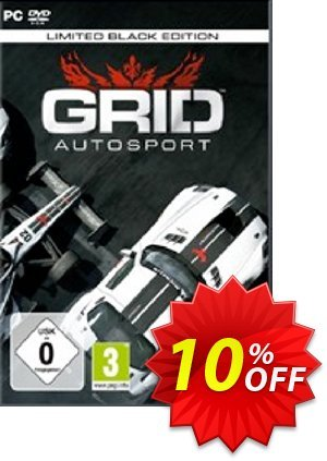 Grid Autosport Black Edition PC discount coupon Grid Autosport Black Edition PC Deal - Grid Autosport Black Edition PC Exclusive Easter Sale offer for iVoicesoft