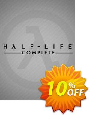 Half-Life Complete PC discount coupon Half-Life Complete PC Deal - Half-Life Complete PC Exclusive Easter Sale offer for iVoicesoft