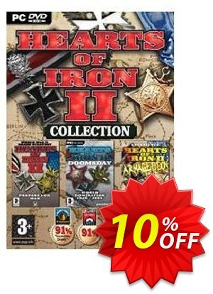 Hearts of Iron Collection - HOI2, Doomsday and Armageddon (PC) discount coupon Hearts of Iron Collection - HOI2, Doomsday and Armageddon (PC) Deal - Hearts of Iron Collection - HOI2, Doomsday and Armageddon (PC) Exclusive Easter Sale offer for iVoicesoft