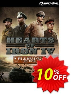 Hearts of Iron IV 4 Field Marshal Edition PC discount coupon Hearts of Iron IV 4 Field Marshal Edition PC Deal - Hearts of Iron IV 4 Field Marshal Edition PC Exclusive Easter Sale offer for iVoicesoft