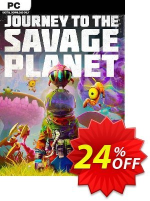 Journey to the Savage Planet PC 프로모션 코드 Journey to the Savage Planet PC Deal 프로모션: Journey to the Savage Planet PC Exclusive Easter Sale offer for iVoicesoft