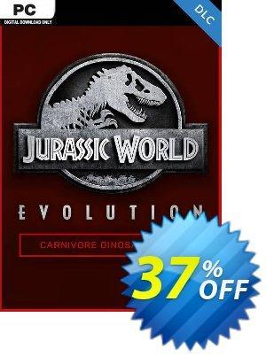 Jurassic World Evolution PC: Carnivore Dinosaur Pack DLC 프로모션 코드 Jurassic World Evolution PC: Carnivore Dinosaur Pack DLC Deal 프로모션: Jurassic World Evolution PC: Carnivore Dinosaur Pack DLC Exclusive Easter Sale offer for iVoicesoft