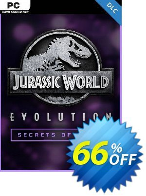 Jurassic World Evolution PC: Secrets of Dr Wu DLC discount coupon Jurassic World Evolution PC: Secrets of Dr Wu DLC Deal - Jurassic World Evolution PC: Secrets of Dr Wu DLC Exclusive Easter Sale offer for iVoicesoft