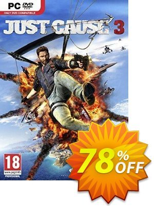 Just Cause 3 PC 프로모션 코드 Just Cause 3 PC Deal 프로모션: Just Cause 3 PC Exclusive Easter Sale offer for iVoicesoft